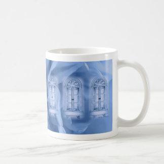 Provencal Rose Blue Windows Mug