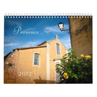 Provence 2012 calendarios de pared