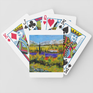 Provence 8851 bicycle playing cards