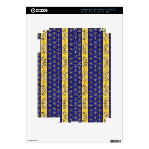 Provence al sur del azul francés de Francia/del mo Pegatinas Skins Para iPad 3