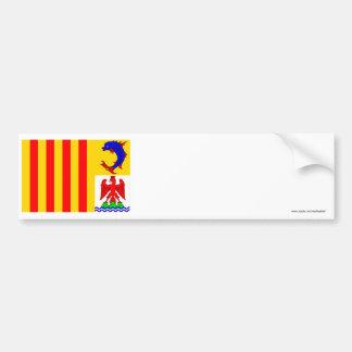 Provence-Alpes-Côte-d'Azur flag Bumper Sticker