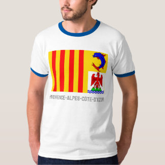 Provence-Alpes-Côte-d'Azur flag with name T-Shirt