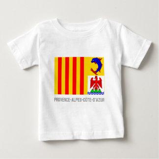 Provence-Alpes-Côte-d'Azur flag with name Tee Shirt