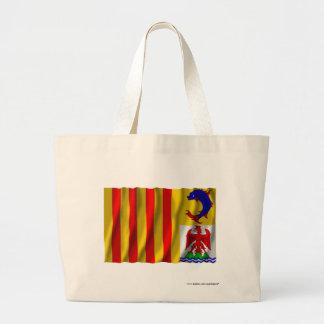 Provence-Alpes-Côte-d'Azur waving flag Large Tote Bag