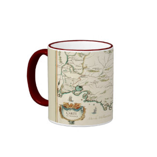 Provence Carte 11 0z. mug