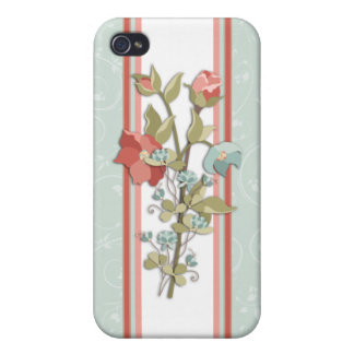 Provence Floral Cover For iPhone 4