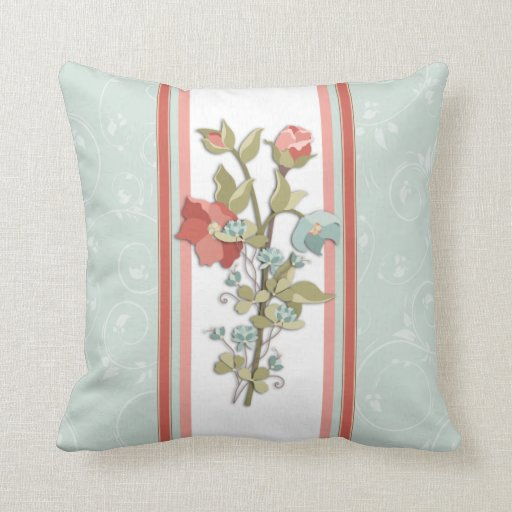 Provence Floral Pillow