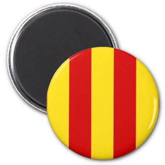 Provence, France flag 2 Inch Round Magnet
