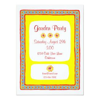 Provence Garden Party Invite