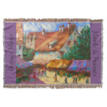Provence Market Blanket Throw by Susi Franco