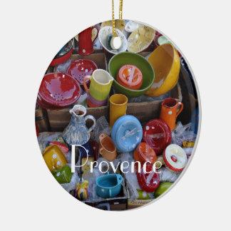 Provence Pottery Ceramic Ornament