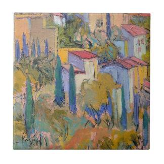 Provence Retreat Art Tile