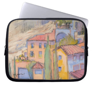 Provence Rooftop Party Laptop Sleeve