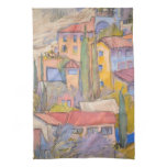 Provence Rooftop Party Towel