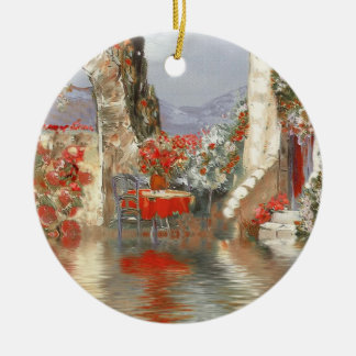 Provence Scenery Christmas Ornaments