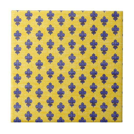provence south of france fleur de lys pattern tile zazzle com