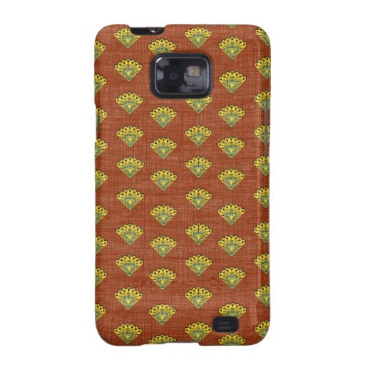 Provence South of France Rustic Bird Pattern Samsung Galaxy S2 Covers