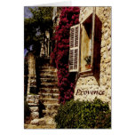 Provence, St Paul de Vence greeting card