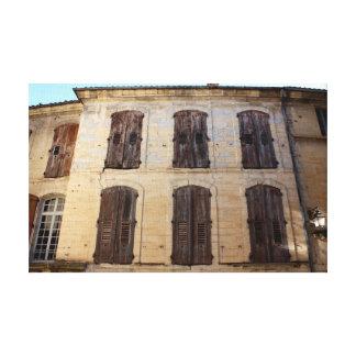 Provence textures series canvas print