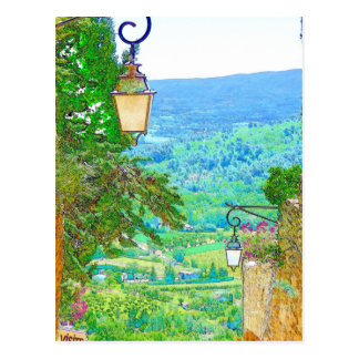 Provence View Postcard