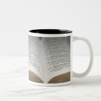Proverbial Prose Two-Tone Coffee Mug