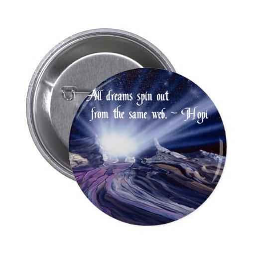 Proverbio antiguo del Hopi Pin