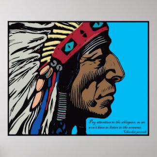 Proverbio cherokee impresiones