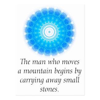 Proverbio chino de motivación postales
