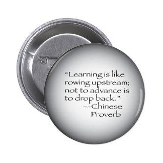 Proverbio chino pin redondo 5 cm
