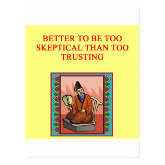 proverbio chino sabio tarjeta postal