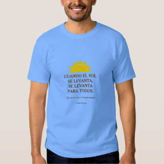 Proverbio cubano camisas