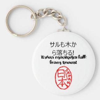 ¡Proverbio del japonés del llavero del estilo de J