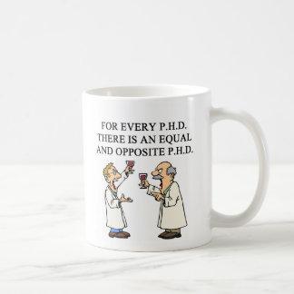 Proverbio del PHD, proverbio del PHD Tazas De Café