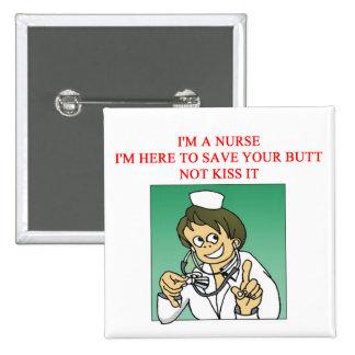 proverbio divertido de la enfermera pin