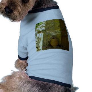 Proverbio griego sobre amor camisas de mascota