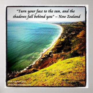 Proverbio hermoso del poster W/NZ de la foto de Nu