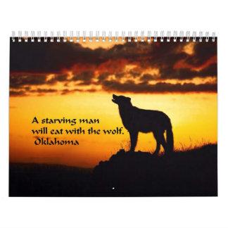 Proverbio indio americano antiguo calendario
