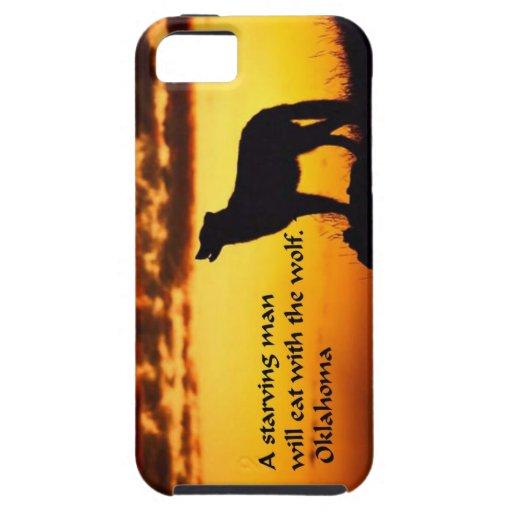 Proverbio indio americano antiguo iPhone 5 Case-Mate cárcasa