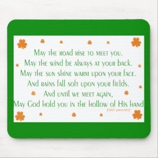 Proverbio irlandés 2 Mousepad
