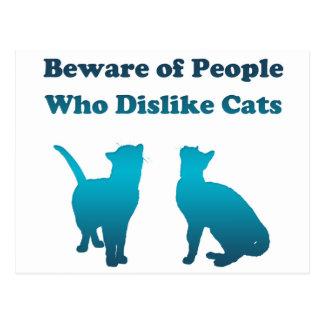 Proverbio irlandés del gato postales