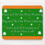Proverbio irlandés Mousepad Alfombrilla De Raton