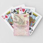 Proverbio jídish chistoso sobre VIDA Baraja Cartas De Poker