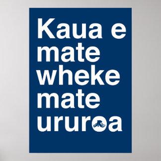 Proverbio maorí impresiones