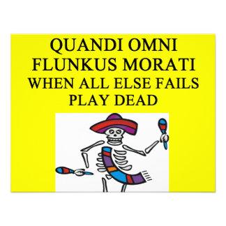 proverbio muerto del juego anuncios