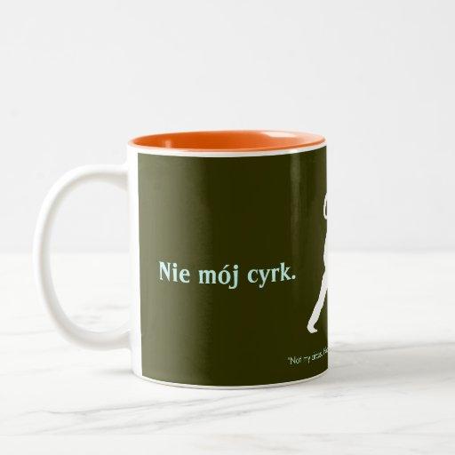 Proverbio polaco taza de dos tonos