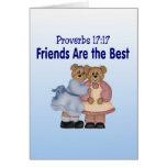 Proverbios 17 17 tarjeton