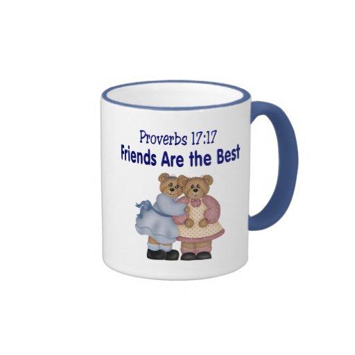 Proverbios 17 17 taza de dos colores