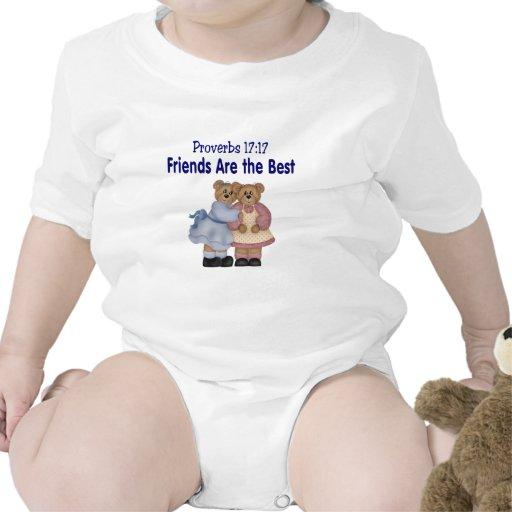 Proverbios 17 17 traje de bebé
