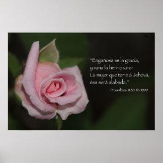 Proverbios 31:30 Cartel Poster