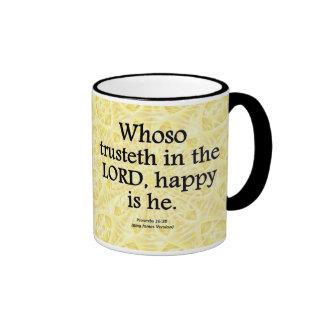 Proverbios de la felicidad 16-20 condensado taza